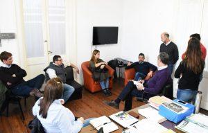 Reunión sobre Plan Estratégico Territorial