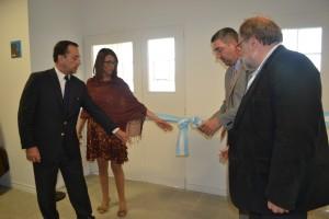 La UNNOBA inauguró el edificio de la Escuela de Ciencias Agrarias, Naturales y Ambientales.