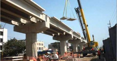 Comenzaron las pruebas de seguridad vial en el nuevo viaducto San Martín