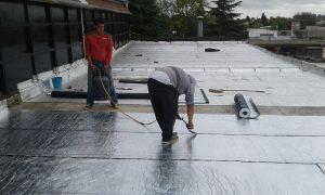 Arreglos en las instalaciones del Polideportivo Municipal de Chacabuco