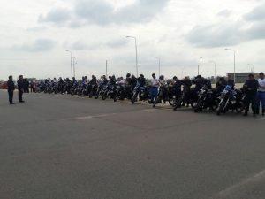 Fin de la capacitación de Policía motorizada
