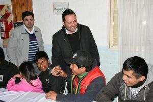 Con la comunidad boliviana