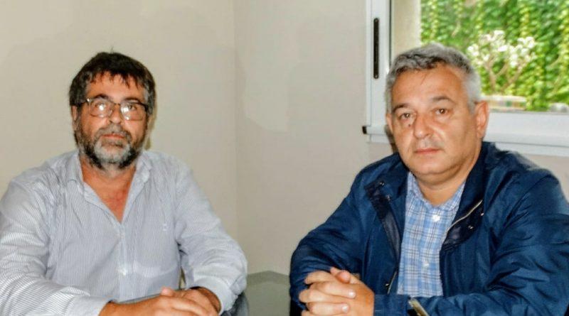 Barrientos reunido con Pablo Panunzzio