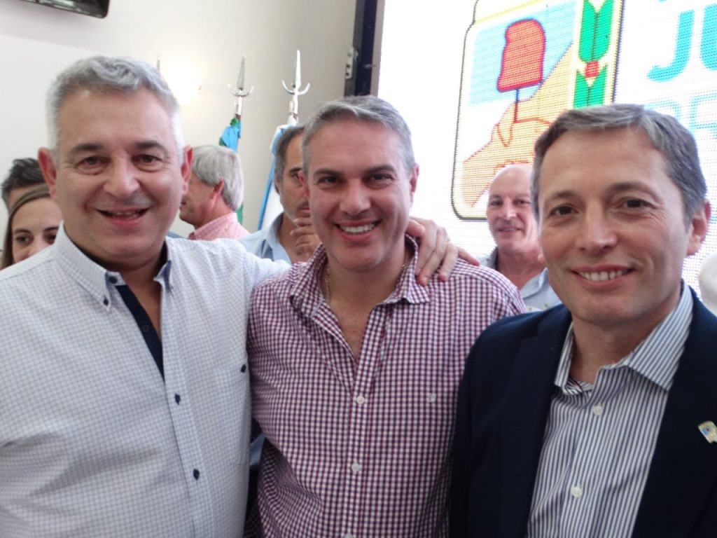 Barrientos, Golía y Gray.