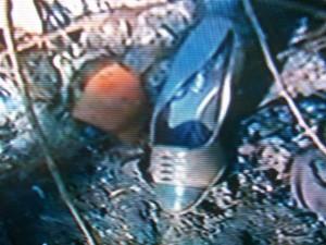 Un zapato de la víctima fue clave para identificarla.