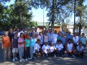 Barrientos en la Colonia Abuelos en Movimiento.