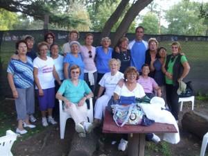 Torneo de tejo - Abuelos en Movimiento.