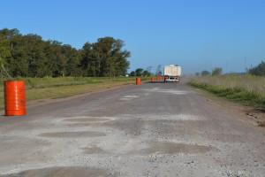 El acceso a Castilla estará cerrado al tránsito por tres meses, hasta tanto se finalice su repavimentación.