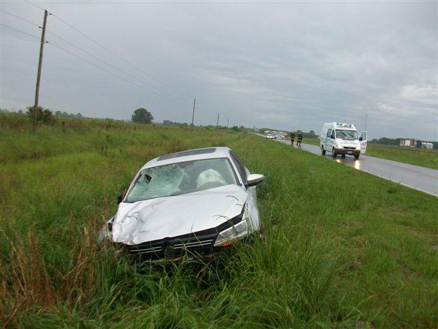 El Vento conducido por un una persona de Morse, involucrado en el accidente.
