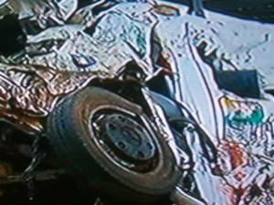 Son ocho las personas fallecidas en el terrible accidente. Imagen TV.