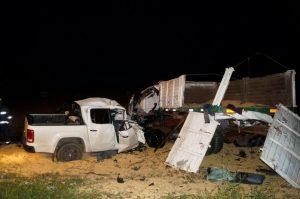 Imagen del accidente en la que estuvo involucrado Sebastián Masucci.