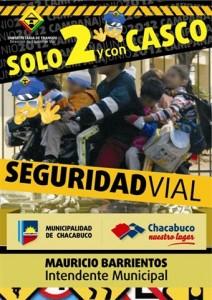 Campaña Anual de Educación Vial en Chacabuco.
