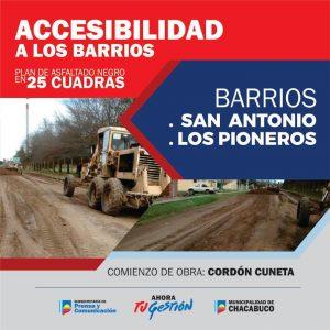 """Se lanzó el """"Plan de Accesibilidad a los Barrios"""""""