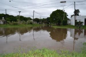 Intersección de avenida Juan D. Perón y calle O´Higgins.