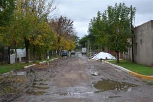 Calle Primera Junta y Pellegrini.