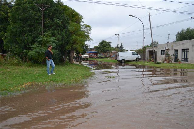 Esquina de avenida Juan D. Perón y O´Higgins.