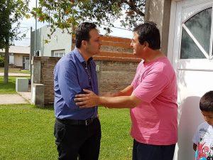 """Aiola en el barrio """"Ubaldo Martínez"""""""
