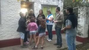 Aiola en el barrio Los Robles  y Cooprativa.