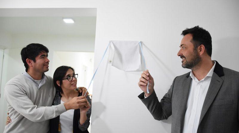 Aiola en la inauguración de la nueva ala del Hogar San José