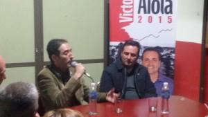 Dr. Leandro Halperin y el Dr. Víctor Aiola.