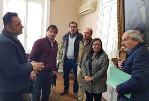 Reunión entre Aiola y Ciminelli