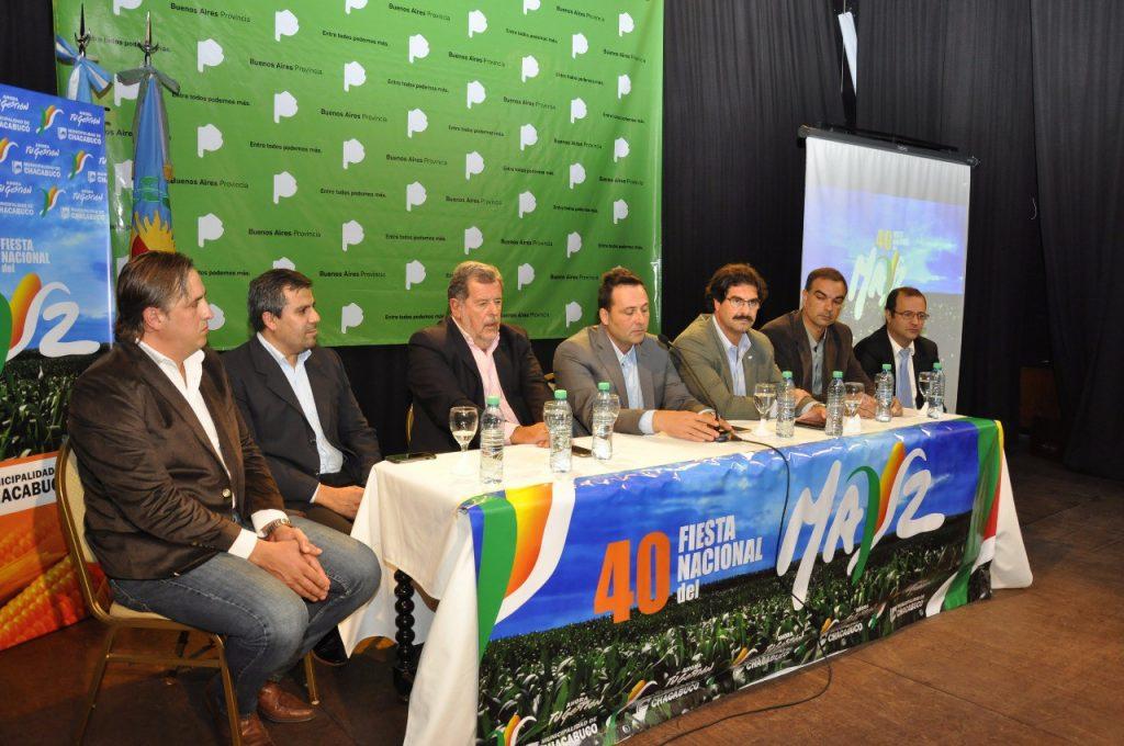 lanzamiento oficial de la cuadragésima Fiesta Nacional del Maíz