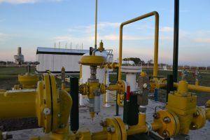 Planta de gas de Rawson.