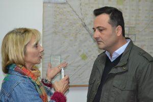 Aiola durante la entrevista con Mónica del Castillo.