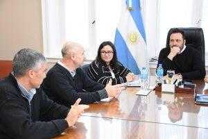 Aiola se reunió con la Fundación del Hospital Municipal