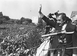 Hoy se cumplen 4 años del fallecimiento de Raúl Alfonsín.