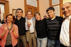 Los ministros de Economía, Amado Boudou, y del Interior, Florencio Randazzo, viajaron a Tucumán para acompañar a José Alperovich.