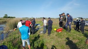 Lugar dónde hallaron el cuerpo sin vida de  Amadeo Busca.