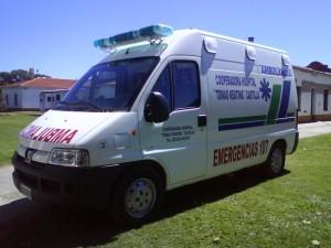 ARBA desconocía que este vehículo era usado como ambulancia, ya que no se habían realizado los trámites ante éste organismo por la exención de impuestos.