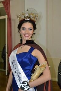 Anabella Longarini, Reina de la 39º Fiesta Nacional del Maíz. Foto Marcelo Quintana.