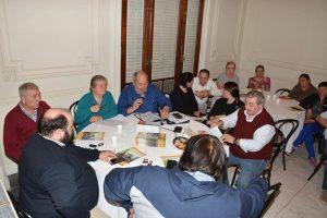 Reunión con los nuevos delegados gremiales