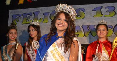 Agostina Martínez, Reina del 134º Aniversario de Rawson