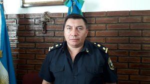 Comisario de la Estación de Policía Comunal de Chacabuco, Marcelo Enrique Arce