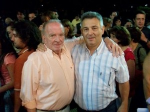 Osmar Granados fue uno de los representantes de la Cooperativa Eléctrica que se reunió con Barrientos.