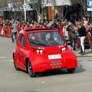 El auto fabricado en Chacabuco.