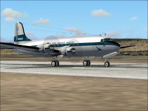 Avión similar al caído en Castilla.