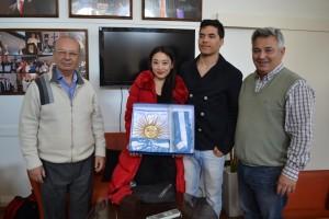 Jesús Taborda y Shirley Xuanyi Xu, medalla de bronce en el Mundial de Tango.