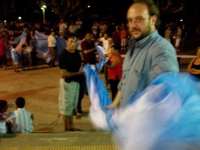 Lucas Bettoli, el Director de Promoción de Derechos Humanos del municipio.