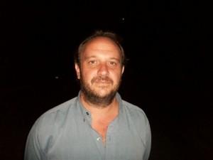 Lucas Bettoli, uno de los funcionarios que estuvo en Buenos Aires.