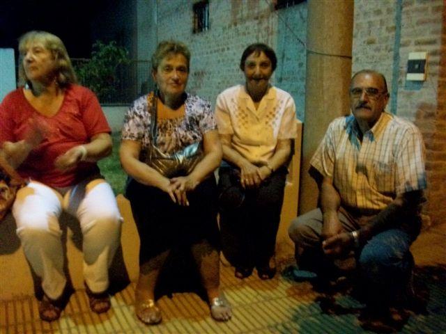 Integrantes de la comisión de Jubilados de Rawson, están organizando el viaje a Rosario para llevar la Bandera hecha en Rawson.