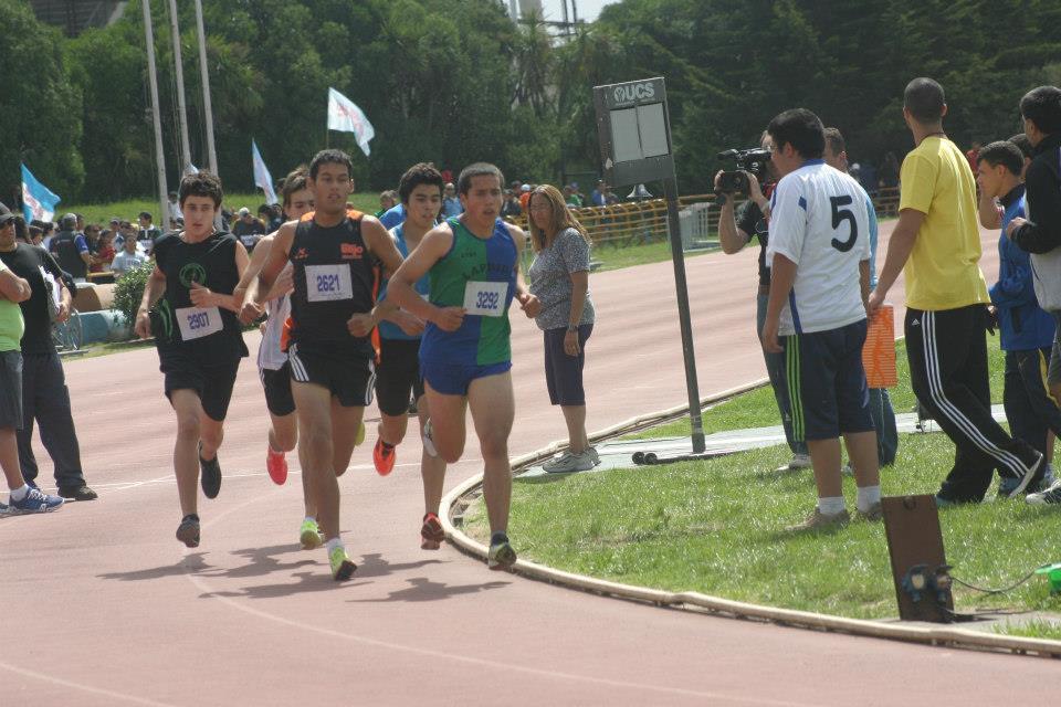 Imagen de la competencia en la que participó Gianfranco Barranco.