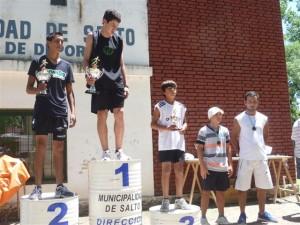 Barranco en lo más alto del podio en Salto.