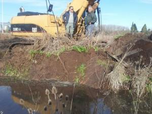 Se trabaja para hacer frente a las inundaciones.