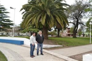 Finaliza la remodelación de la Plaza Belgrano