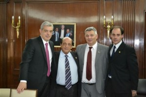 Domínguez, Mussi, Barrientos y Perfetti.