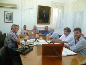 Barrientos acordó obras con la Cooperativa Eléctrica.